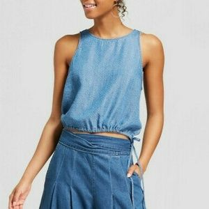 Universal Thread Denim Chambray Tank Top